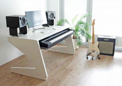 UNTERLASS_KEY_88 Keyboardtisch